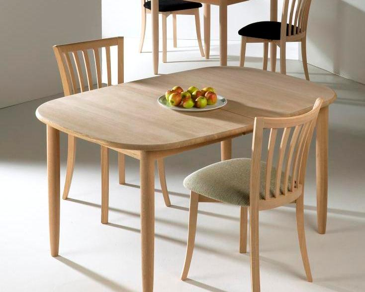 Haslev spisebord 800 serien   danbo møbler