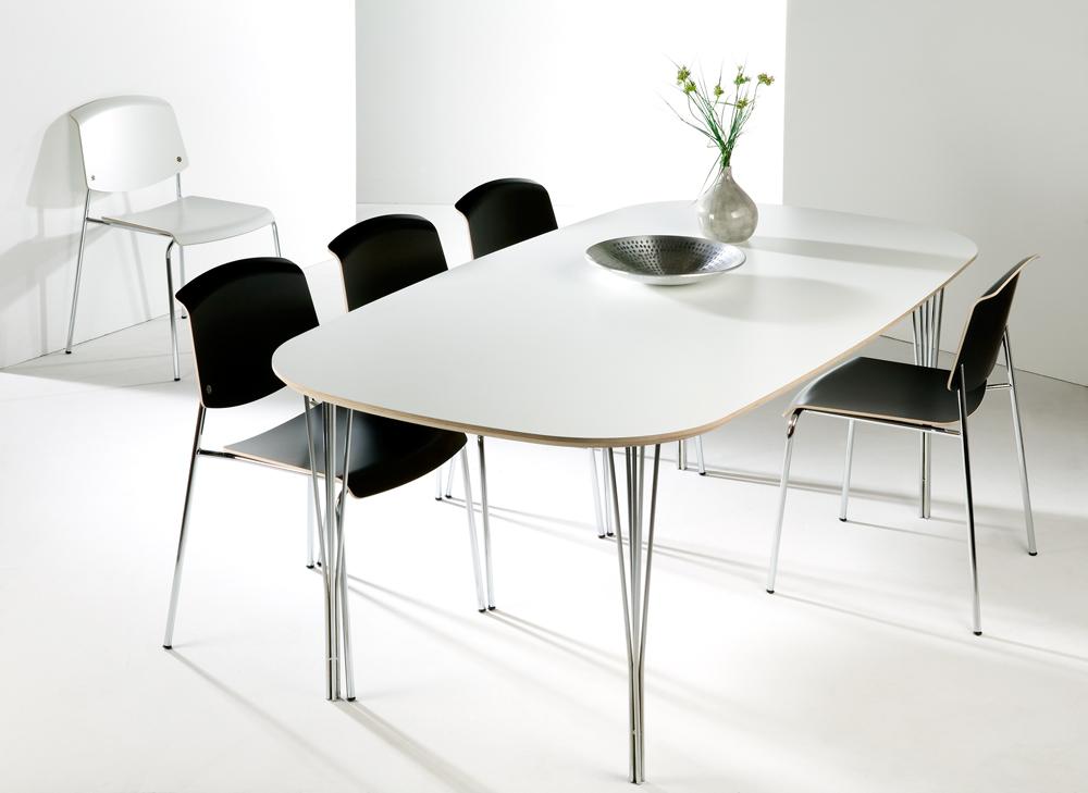 haslev spisebord Haslev Symphony laminat spisebord   Danbo Møbler haslev spisebord
