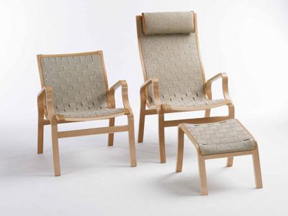 ND Bern høj stol m/gjod - Danbo Møbler