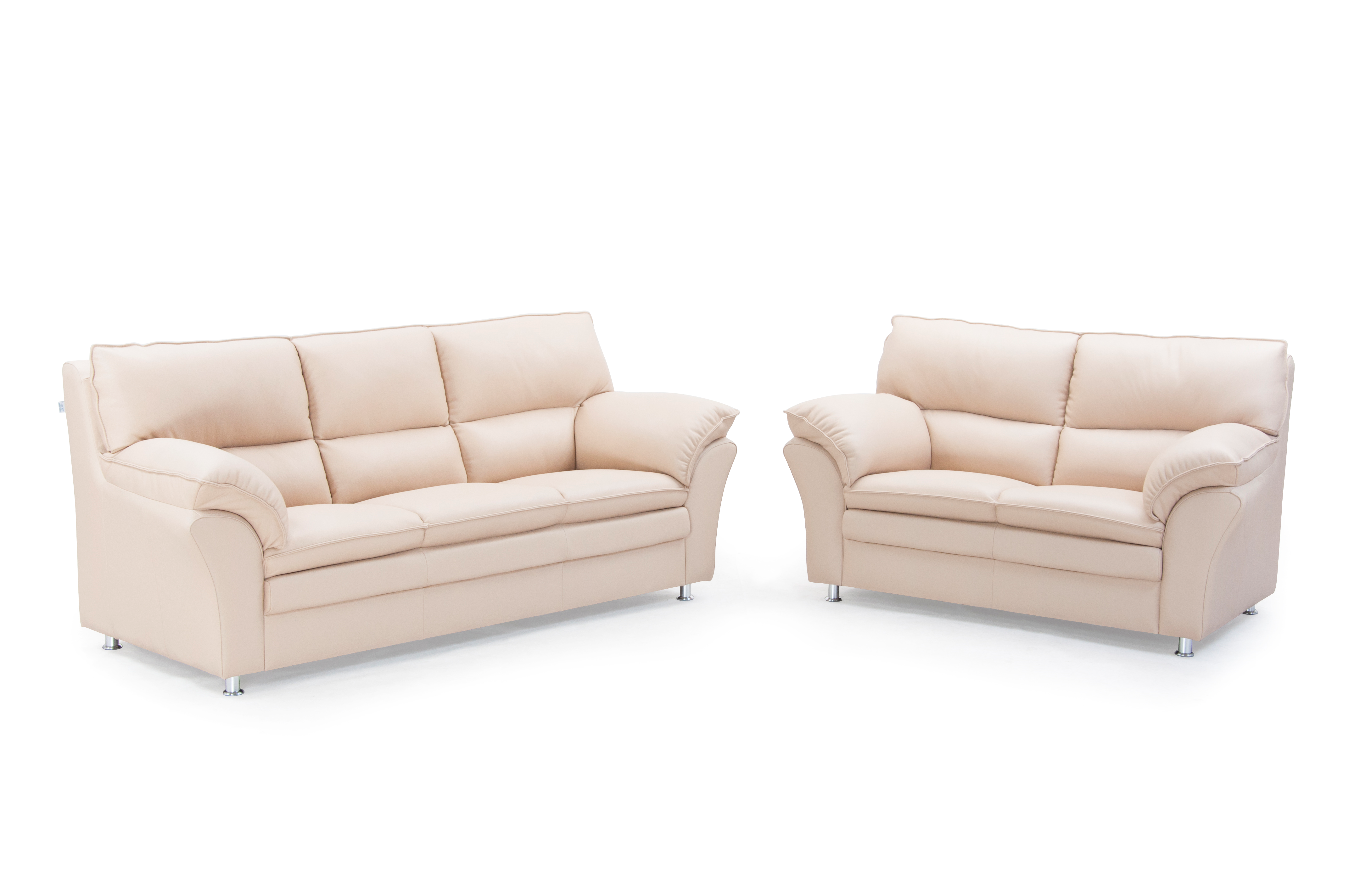 Picture of: Palma 3 2 Pers Sofa Laeder Danbo Mobler